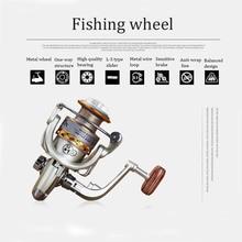 Spinning Fishing reel Dasino 13-axis metal head fishing handle sea  Boat Rock Wheel