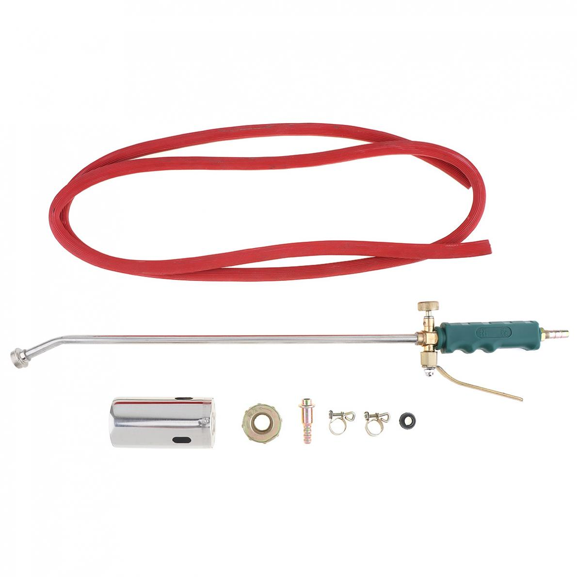 50mm Double Switch Type Liquefied Gas Torch Welding Spitfire-Gun Support Oxygen Acetylene Propane For  Barbecue /Hair Removal