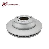Rotor de freio automático 7l8615601c para volkswagen touareg para audi aq7 1kf 330*28mm discos de freio traseiro do carro