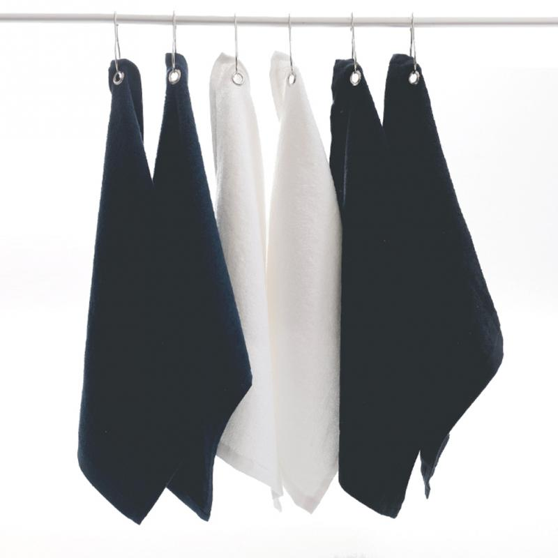 40*32cm Golf Towel With Hook Hand Towel Cotton Soft Towels Drop Ship