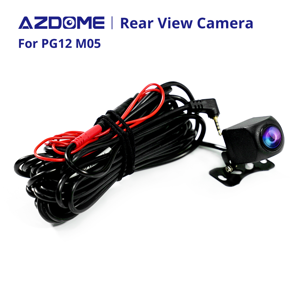 AZDOME 720P Car Rear View Camera For PG12 Auto Video Recorder Waterproof Vehicle Backup Cameras