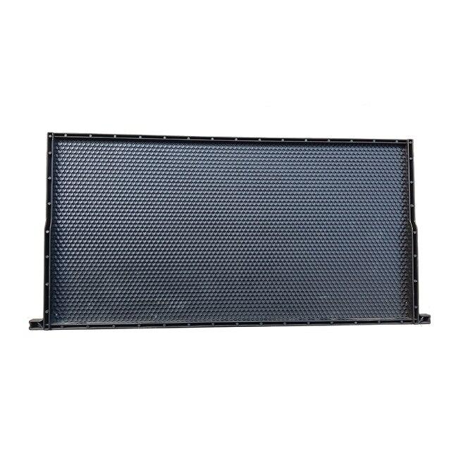 Пластиковый лист основания и черная пластиковая рамка пчелы для поддержки Apis mellifera Кастомизация подходит для различных ульей