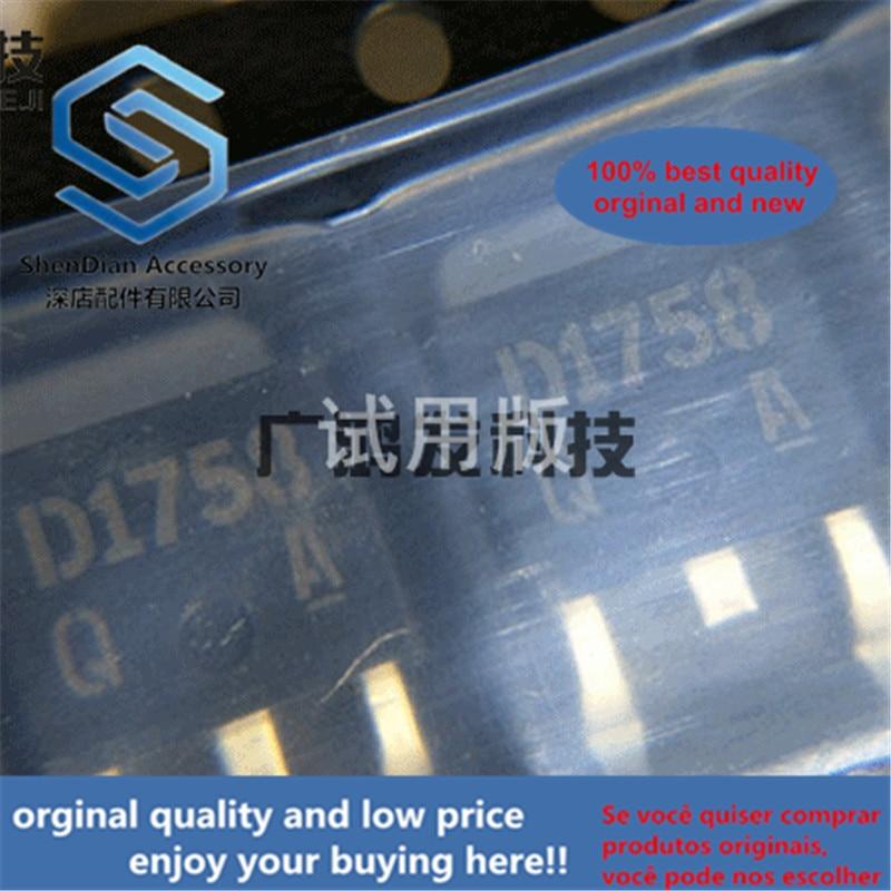 10pcs 100% Orginal New D1758 Q NPN Transistor Q File SOT TO-252