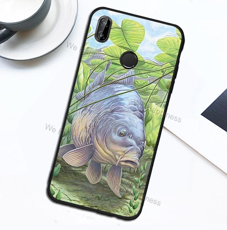 Carp Fish Fishing Case For Xiaomi Redmi Note 8T 8 7 9 Pro K30 9S 7A 8A Mi Note10 A3 9T SE 10 Pro Max3 Mix3