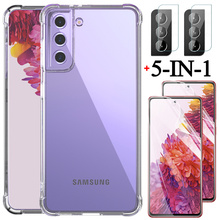 s21 ultra,s21+ phone cases for samsung s21 ultra galaxy s 21 plus shockproof silicone cover s20 fe samsung galaxy s21 ultra case