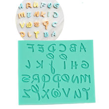 DIY Alphabet Letter Number Fondant Cake Biscuit Baking Cutters Cookie Mold