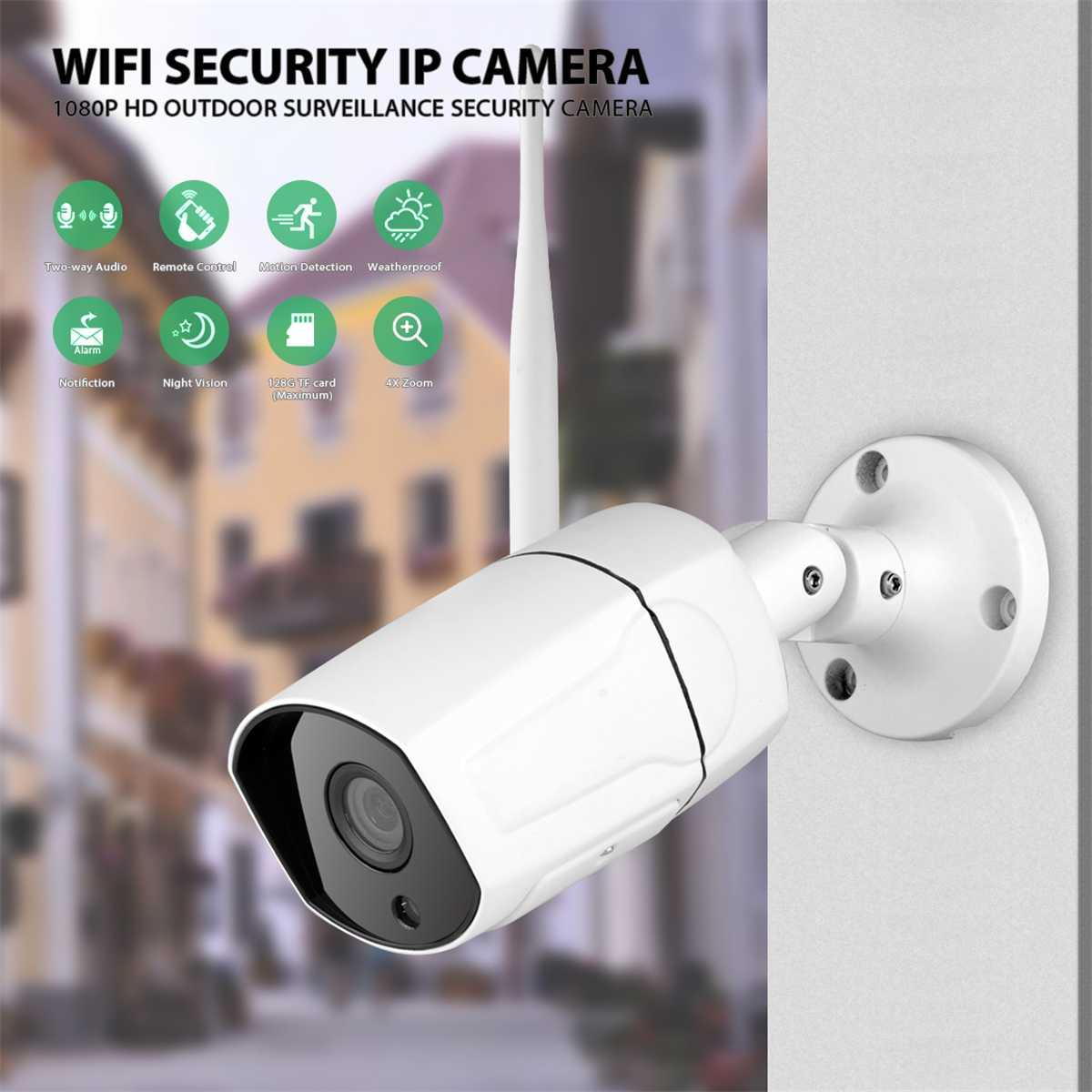 IP Kamera Wifi Im Freien Wasserdichte HD Sicherheit Kamera Wireless 1080P Nachtsicht Überwachung Kamera CCTV Onvif Kompatibel