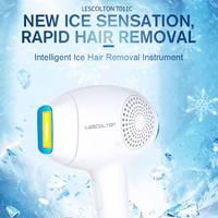Lescolton 3 in 1 IPL Hair Removal ICE Cold Epilator Permanent Laser Electric Photorejuvenation Depilador For Bikin Body Underarm