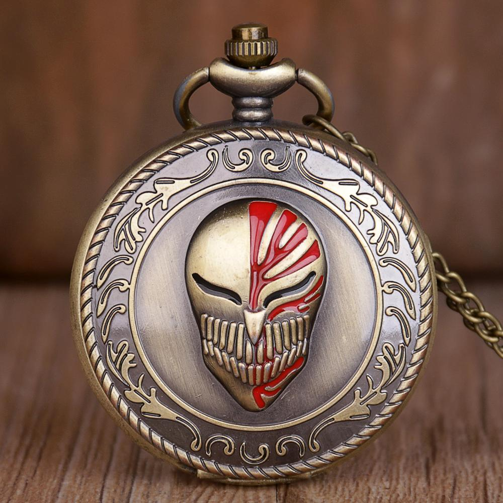 Top Brand Superhero Theme Quartz Pocket Watches With Necklace Chain Pendant Pocket Watches For Mens Womens Children Gifts