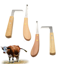 Farm Cattle Horse Hoof Knife Shears Right Handed Double Edge Veterinary Sheep Goat Pig Castration Animal Foot Pruning Tools cattle ear tag clamp cattle goat ear label metal forceps for farm animal tools