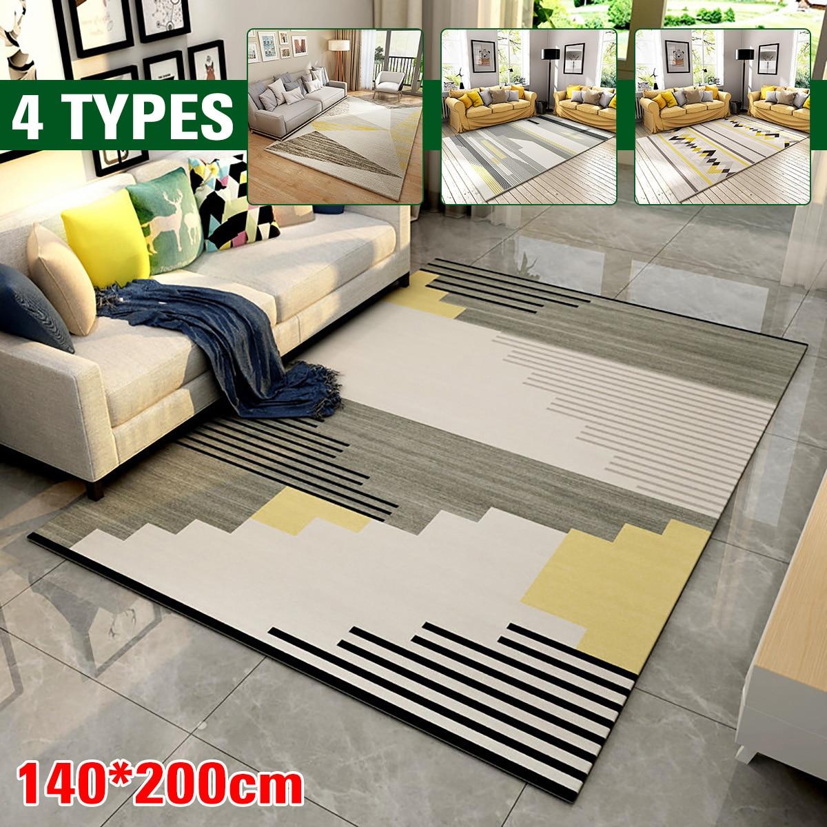 Купить 140*200 см простой стиль ковер гостиная нескользящий предотвращение