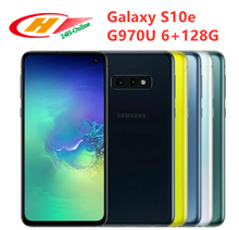 Samsung Galaxy S10e G970U G970U1 Snapdragon 855  6GB RAM 128GB ROM Octa Core 5.8′ NFC Fingerprint  Mobile Phone