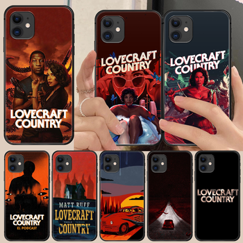 horror movie lovecraft country Phone Case Cover Hull For iphone 5 5s se 2 6 6s 7 8 11 12 mini plus X XS XR PRO MAX black image