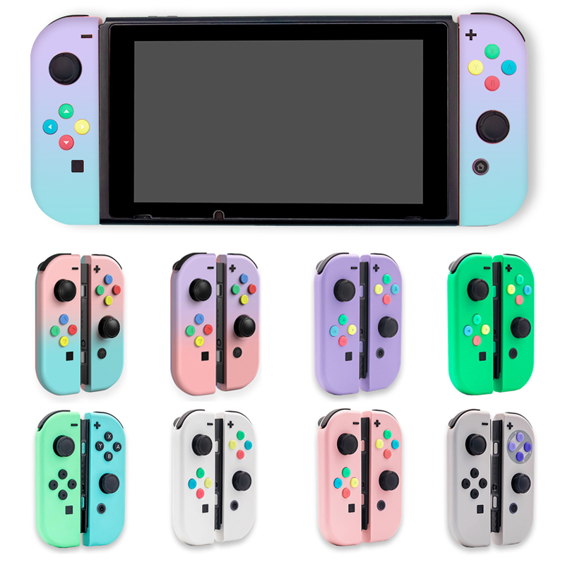 DIY JoyCon Controller Shell For Nintendo Switch Replacement Housing Cover Joy-Con Case Accessories With Full Set Buttons Tool