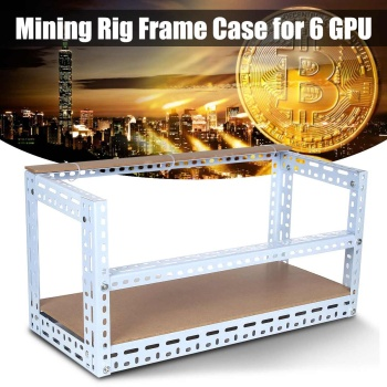 6/8/12 GPU Open Air Mining Miner Frame Crypto Coin Stackable Rig Bitcoin BTC Fame Case For 6 Graphics Card GPU ETH BTC Ethereum 1