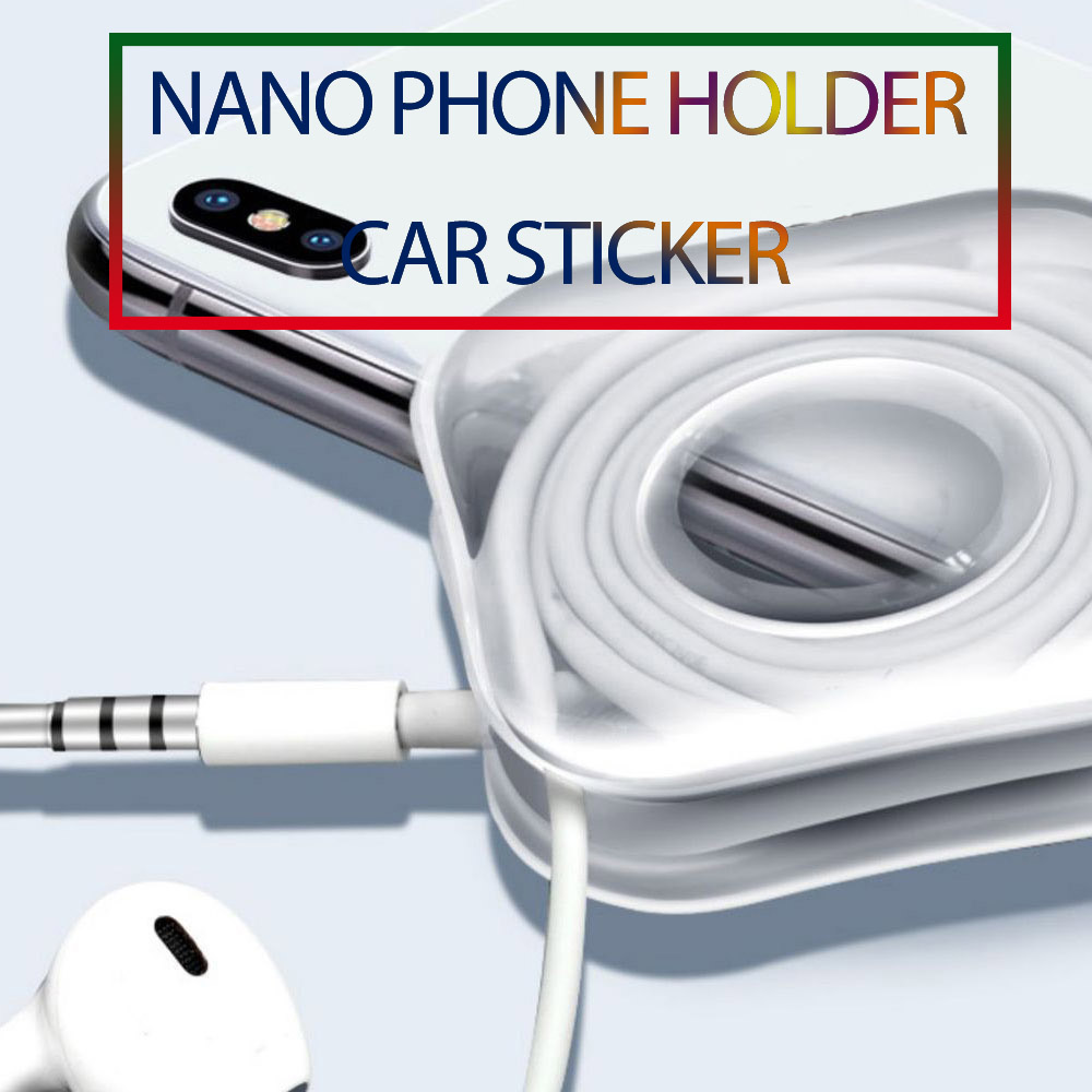Universal Nano Car Sticker No Trace Nano Paste Rubber Pad Casual Stickers For Kitchen Car Phone Holder Gel Paste Car Accessories