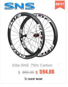 Elite slt estrada rodas de carbono aero