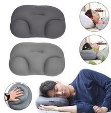 Oreiller 3D nuage avec taie d'oreiller, oreiller créatif, sommeil profond, décompression de l'air Ouf ore