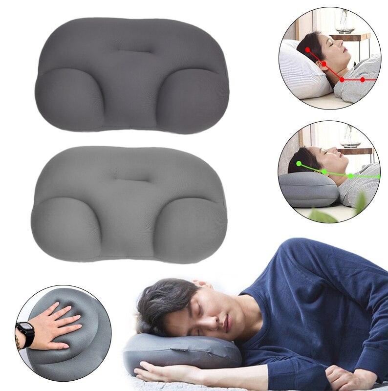 3D nuage oreiller avec taie doreiller 3D cou oreiller créatif sommeil profond cou oreiller décompression air oreiller. Oeuf de minerai