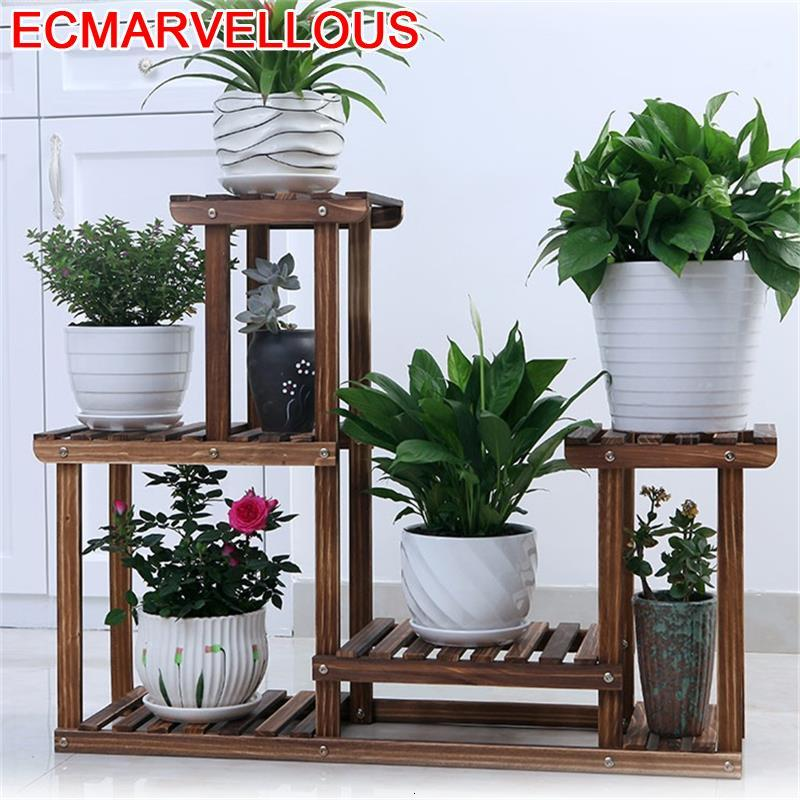 Etagere Plante Indoor Pot Terraza For Estante Para Flores Table Balcony Shelf Outdoor Flower Stojak Na Kwiaty Plant Stand