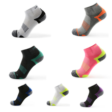 Coolmax мужские спортивные носки для верховой езды, велоспорта, гонок, баскетбола, спорта, полулета, пеших прогулок, тенниса, мужчин и женщин, Лыжный велосипед, велосипедный Противоскользящий