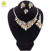Woman Accessories Jewelry Set Bridal Gift Fashion African Beads Jewelry Set Wholesale Dubai Gold Jewelry Set Wedding Design
