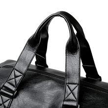 Neue Stil Kurzen Abstand Reisetasche Fitness Tasche frauen Yoga Übung Training Bag männer PU Wasserdichte Tragbare Reise tasche