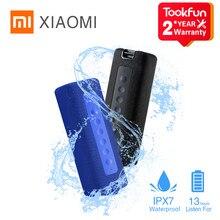 Versão global xiaomi portátil bluetooth alto-falante 16w bluetooth 5.0 ipx7 à prova dtrue água de alta qualidade verdadeira barra de som estéreo sem fio
