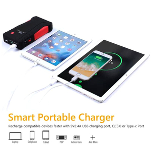 Image 4 - GKFLY High Power 1500A Starting Device 12V Portable Car Jump Starter Power Bank Car Charger For Car Battery Booster Buster LED