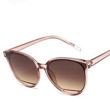 Nuevas gafas de sol clásicas ovaladas rojas para mujer, gafas de sol de lujo de plástico Vintage para mujer, gafas de sol de ojo de gato de diseñador, moda UV400 para conductor