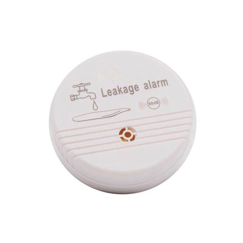 Water Overflow Leakage Alarm Sensor Detector 90dB Water Level Alarm Leak Flood Detection Home Security Alarm System