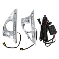 Car Styling Led Drl for Toyota Camry 2012 2014 Daytime Running Lights Day Lamp with Turn Signal Dimmed Function Relay