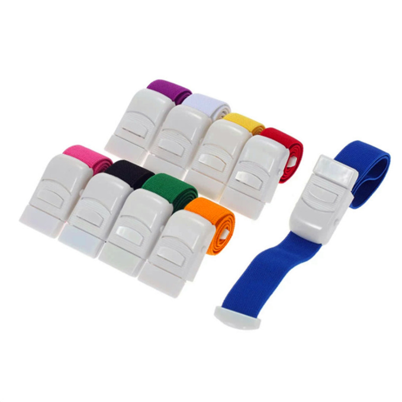 1Pcs Colorful Medical Paramedic Tourniquet Quick Release Buckle Outdoor Sport Emergency For First Aid Medical Nurse General Use(China)