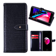 Business crocodile leather wallet style mobile phone case for huawei Honor Y5 20 lite P Smart Z 20 Pro P20 Lite Nova 5 5i PRO(China)