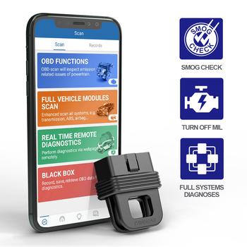 THINKCAR 1S narzędzie diagnostyczne do samochodów kod skanera OBD2 czytnik pełny układ pełne funkcje Automotivo DTC wyszukiwanie połączenia Bluetooth tanie i dobre opinie CN (pochodzenie) 2021 nest Analizator silnika 0 1kg 2021 new