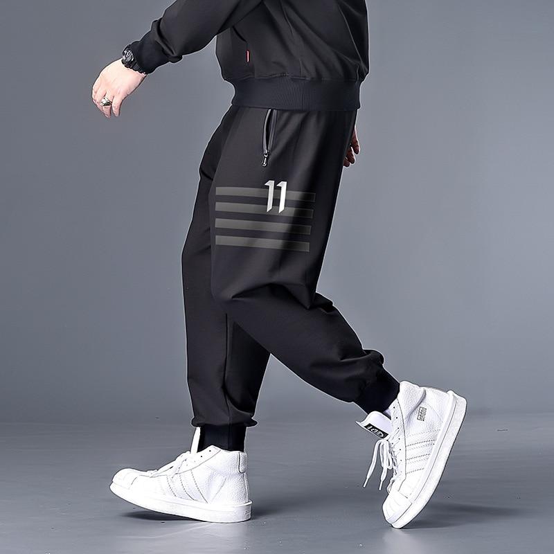 7XL 6XL 5XL XXXXL Plus Size  Black Cargo Pants For Men Overalls Mens Streetwear Hip Hop Sweatpants Joggers Fashions Track Pants