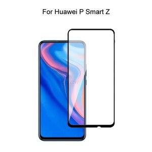 Image 1 - מזג זכוכית עבור Huawei P חכם Z מלא כיסוי 2.5D מסך מגן מזג זכוכית עבור Huawei P חכם Z