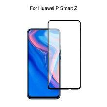 Verre trempé pour Huawei P Smart Z couverture complète 2.5D protecteur décran verre trempé pour Huawei P Smart Z