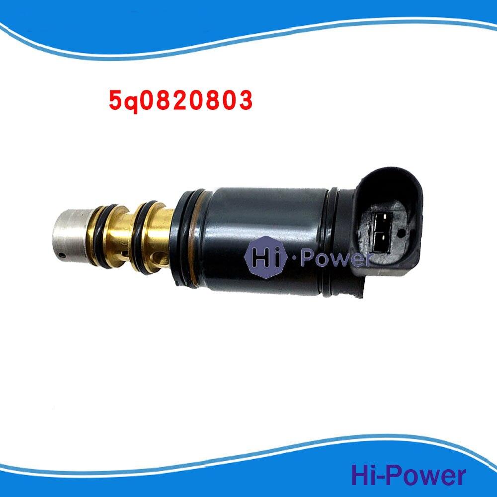 7SEU16C VW AC Compressor Control Solenoid Valve For DENSO MK5 MK6 6SEU14C