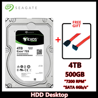 Seagate Exos 7E8 4TB Enterprise Hard Drive 128M SATA 6Gb/s HDD Desktop PC 3.5 7200RPM 4000GB Server Hard Drive ST4000NM0035