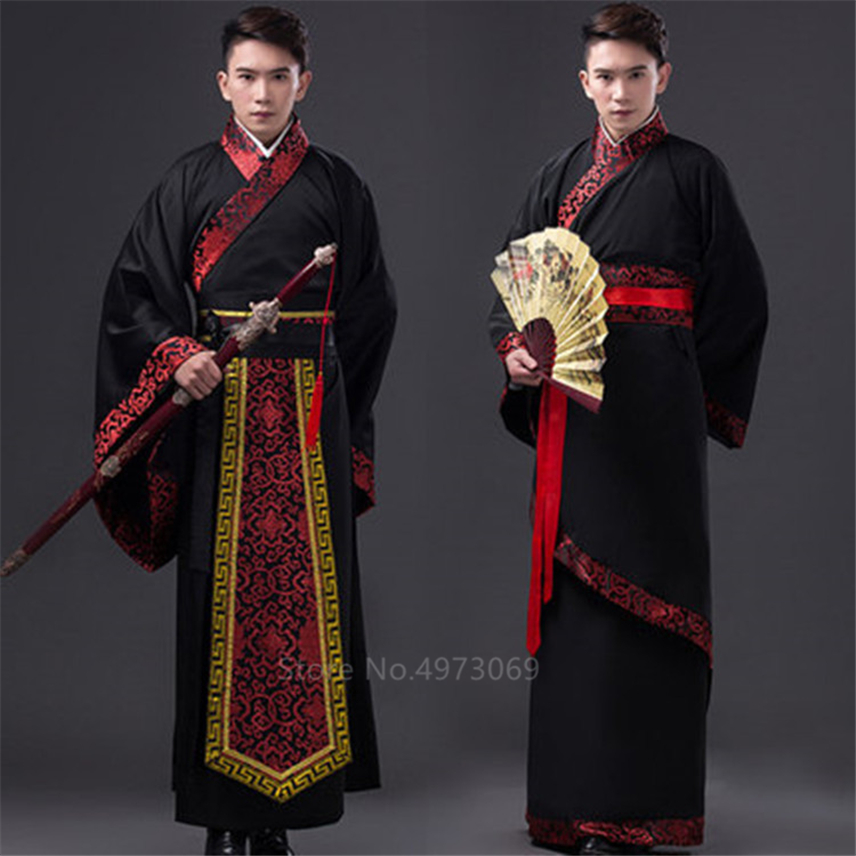 New Year Traditional Chinese Clothing African Dresses For Adult Men Tang Suit Stage Performance Clothing Ancient Costumes