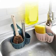 Ventosa pia prateleira sabão esponja rack cozinha otário útil ferramenta de armazenamento acessório da cozinha drenagem cesta titular qe