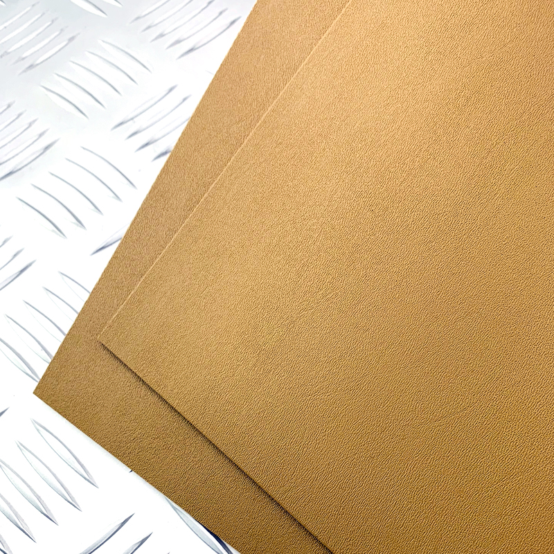 Brown/orange Diy Knife Making Material KYDEX Board K Knife Scabbard DIY Thermoplastic Board Custom Knife Sheath1.5mm
