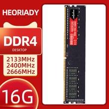 HEORIADY Ram DDR4 8GB 16G 2133MHz 2400Mhz 2666MHZ masaüstü bellek 288 pin yeni dimm standı intel bilgisayar anakartı