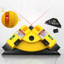 New Arrival 90 Degree Vertical Horizontal Line Sucker Laser Level Tile Laying Leveling Tool Home Tool