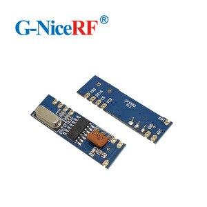 Image 5 - 10 zestawów 433MHz ASK moduł nadawczo odbiorczy zestaw SRX882 + STX882 + antena sprężynowa bezprzewodowy moduł RF 433MHz