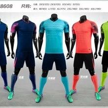 Suit Men Football-Uniform Sportswear Futbol Blank Custom DIY Adult Large Men's New