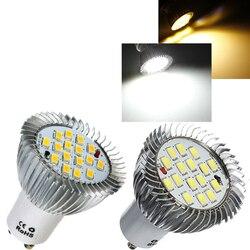 7 Вт Светодиодный светильник лампы GU10 E27 E14 Точечный светильник 16 SMD 5630 энергосберегающие лампы AC85-265V Точечный светильник s лампы светильник ...