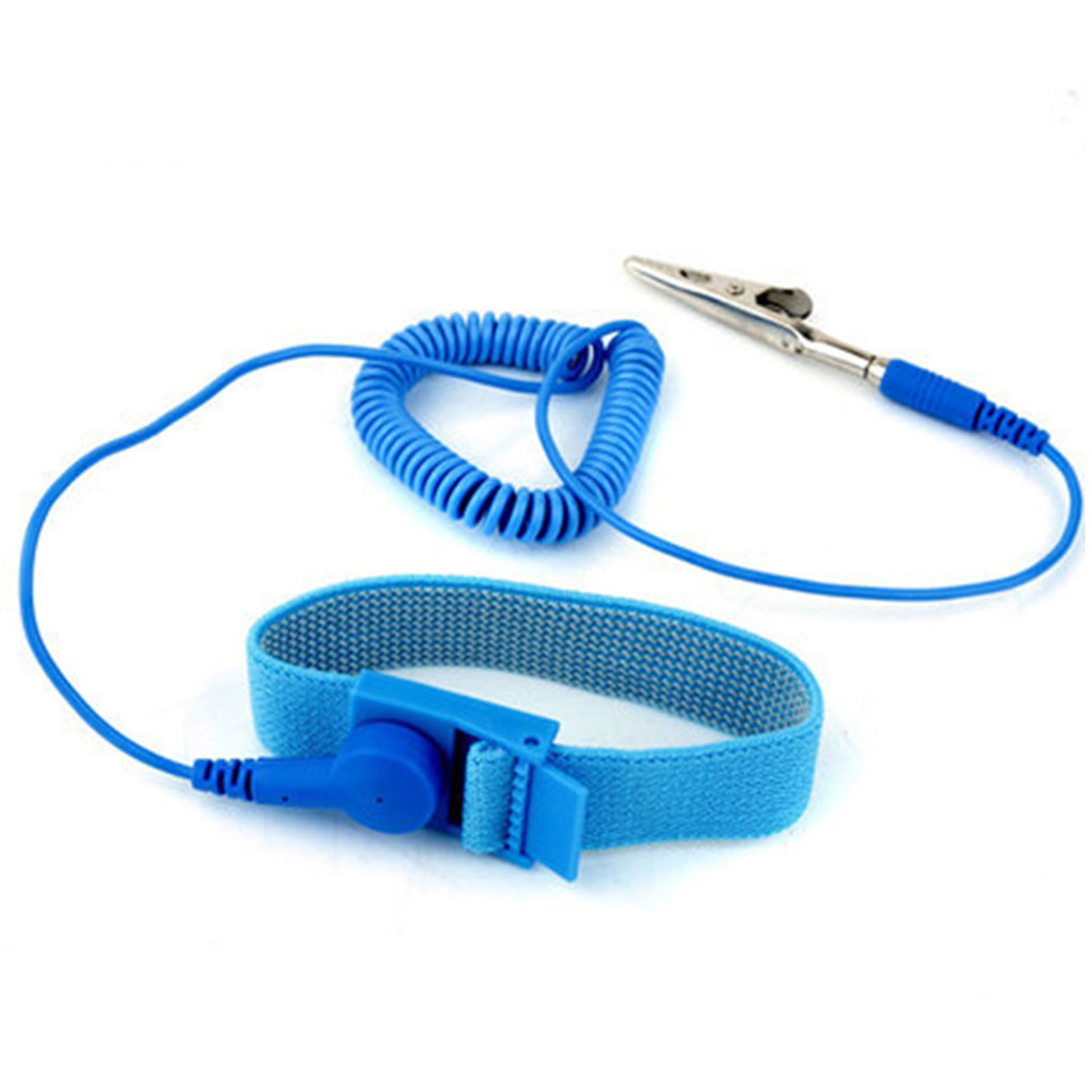 PVC Anti Static Wrist Strap Grounding Electricity Discharge ESD Wrist Band
