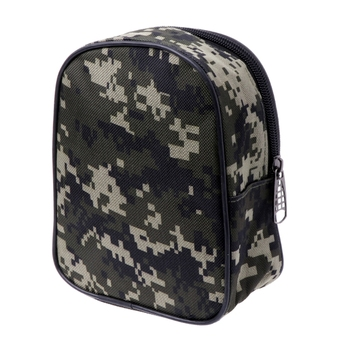Camouflage Fishing Reel Mini Bag Pocket Fishing Tackle Pouch Case Outdoor Sports